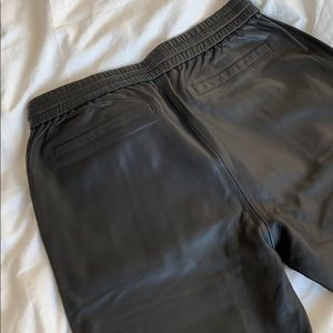 Pam & Gela Pants - Leather pants